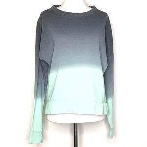 So Ex-Boyfriend 3/4 Slv Ombre Sweatshirt A21089